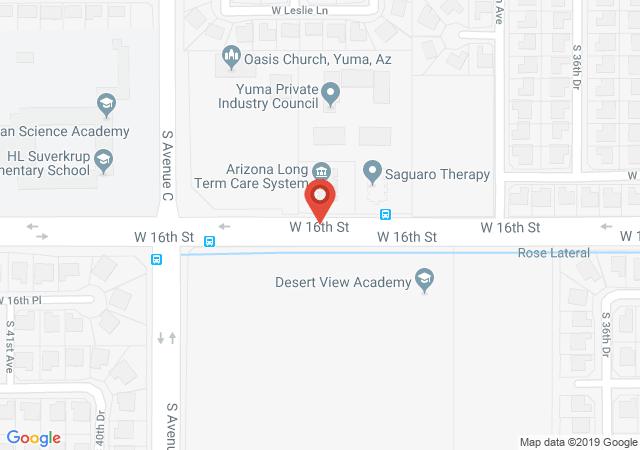 Google map image of 3850 W 16th St C, Yuma, AZ, 85364